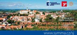 X. odborná konference a setkání spinálních jednotek