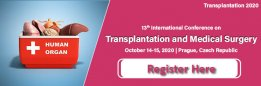 13th International Conference on Transplantation and Medical Surgery
